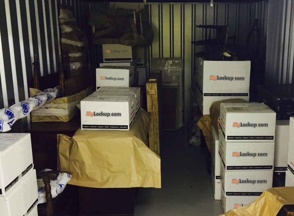 Organising storage space